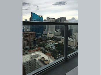 EasyRoommate US - Amazing Apartment, Looking for a Roommate - Brickell Avenue, Miami - $1,250 /mo