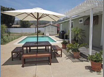 EasyRoommate US - Beautiful home with large room available  - Escondido, San Diego - $750 /mo