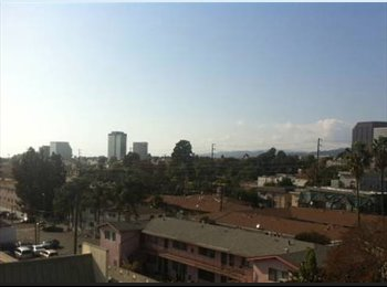 EasyRoommate US - Shared bedroom/Bath in a  luxurious Penthouse in Brentwood (close to universities and college) - Brentwood, Los Angeles - $850 /mo