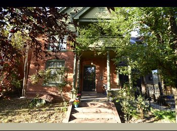 Large bedroom w/ private balcony & bathroom in large Baker...