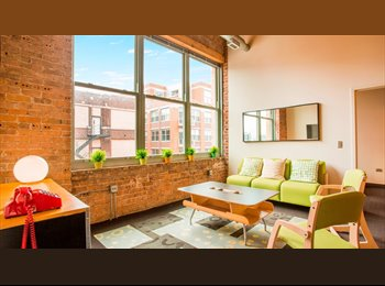 EasyRoommate US - Christmas break subleasing (1 month) - West Town, Chicago - $872 /mo