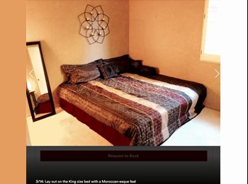 Furnished Room 15 min from Beach