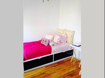 EasyRoommate US - Bright Room in a Beautiful/ Quant West Harlem 3 Bedroom Apartment   - Morningside Heights, New York City - $841 /mo