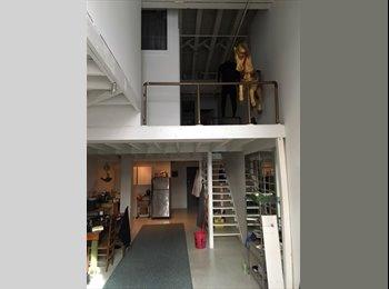 Room in huge williamsburg loft apartment