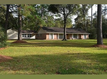 One story home on acre lot in Forest Cove. Home is a cozy...