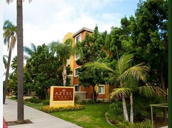 EasyRoommate US - SDSU apartment for rent spring semester - University Heights, San Diego - $640 /mo
