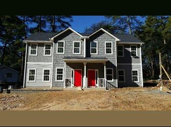 EasyRoommate US - Evan's Place- BRAND NEW- 5 Bedroom Duplex  - Raleigh, Raleigh - $3,000 /mo