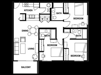 EasyRoommate US - Subletting a Room at Aggie Station in January! - Bryan, Bryan - $579 /mo