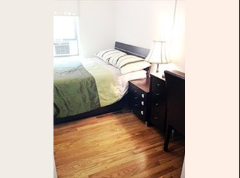EasyRoommate US - $1650 large room $1450 small room Sunny Elevator building with free gym 1 block from subway1 train - Midtown West, New York City - $1,650 /mo