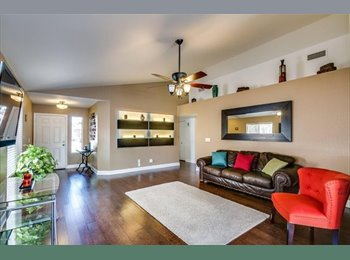 EasyRoommate US - Nice house with beautiful backyard and fire pit - Chandler, Phoenix - $565 /mo