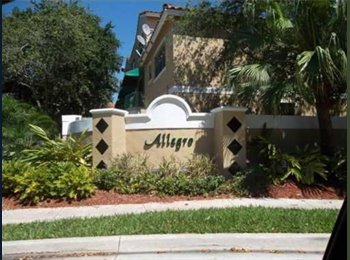 EasyRoommate US - Room For Rent Across The Street From SAWGRASS MALL! - Sunrise, Ft Lauderdale Area - $800 /mo