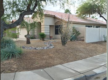 1 of 2 rooms available in N. Phx home with private pool