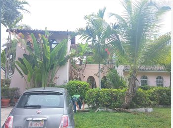 Room to rent with private bathroom roads, Brickell