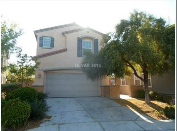 EasyRoommate US - $680 2 Private Rooms and 1 Bath in 2 Story Home (Summerlin) - Summerlin, Las Vegas - $680 /mo