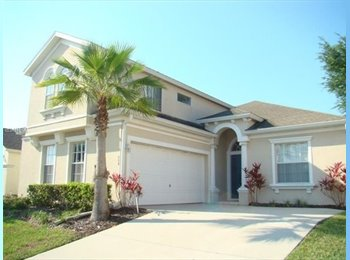 EasyRoommate US - Furnished Rooms a few miles from Disney - Polk County, Orlando Area - $600 /mo