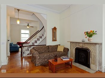 EasyRoommate US - Share a Whole Park Slope Brownstone - Park Slope, New York City - $1,550 /mo