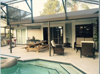 EasyRoommate US - Room available Modern House, for the right roomie!, Orlando Area - $600 /mo