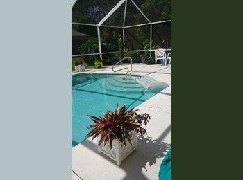 EasyRoommate US - Pool home to share palm coast florida - Vero Beach, Other-Florida - $550 /mo