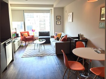 EasyRoommate US - Master bedroom/bath in AVA Theater District! Downtown Boston - Downtown, Boston - $1,875 /mo