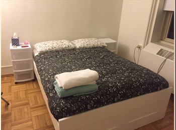 Furnished big private room w/big window & AC (Union...