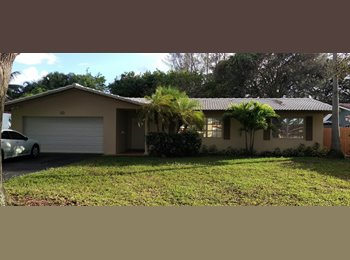 EasyRoommate US - All the Freedom that you Can Handle - Coral Springs, Ft Lauderdale Area - $1,050 /mo