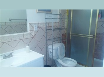 LARGE MASTER BEDROOM WITH PRIVATE RESTROOM LARGE CLOSET AND...