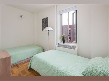 Room with two twin beds is available!