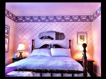 Pristine Room in Rose Room, immaculate home built in 1908