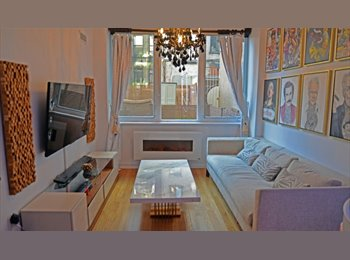 EasyRoommate US -  Full Luxury High Rise+Bran New Condo finishes+High floor+Steps2train, NYC - $1,250 /mo