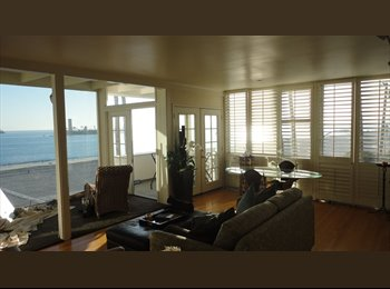 EasyRoommate US - Available NOW - BEACH FRONT CONDO - AMAZING VIEWS! ROOM 4 RENT  IN 2 BED 2 BATH BEACHFRONT CONDO - Long Beach, Los Angeles - $1,200 /mo