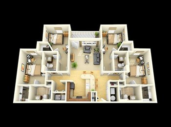 EasyRoommate US - Campus Quarters - Mobile, Mobile - $520 /mo