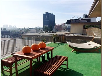 Panoramic Penthouse Balcony on the Sunset Strip