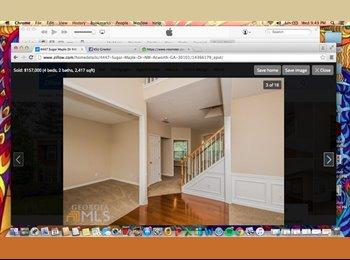 EasyRoommate US - ROOM FOR RENT- FEB 1ST! - Kennesaw / Acworth, Atlanta - $375 /mo