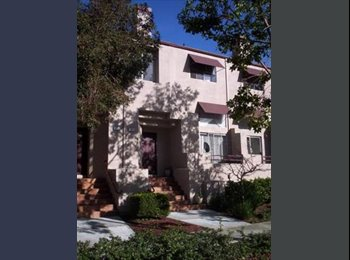 EasyRoommate US - $1350 1 Room Available Now in Spacious 3 Bedroom Townhouse (foster city)  - San Mateo County, San Jose Area - $1,350 /mo