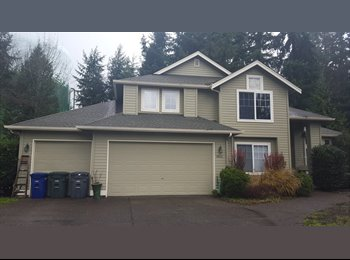 EasyRoommate US -  $800 / 205ft2 - LARGE ROOM *AVAILABLE NOW!* in 5 Bedroom 3 Bath Home (Bothell, WA) - Bellevue, Bellevue - $800 /mo