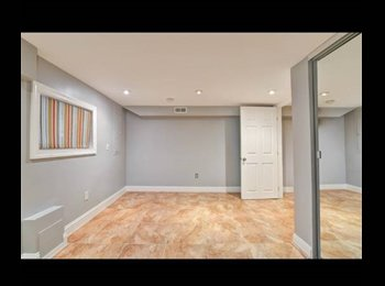 LARGE Cap. Hill Private Basement with Living Area, Bedroom...