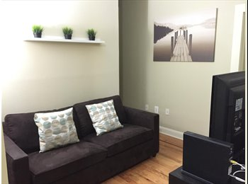 Room for rent in beautiful renovated apartment.