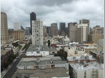 Looking for Roomie in Awesome Nob Hill 14th Floor...