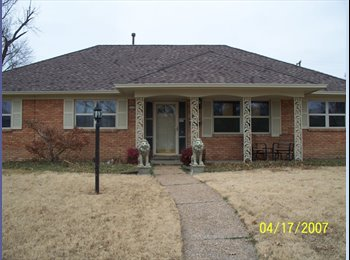 EasyRoommate US - House with in ground pool with a room for rent - Tulsa, Tulsa - $450 /mo