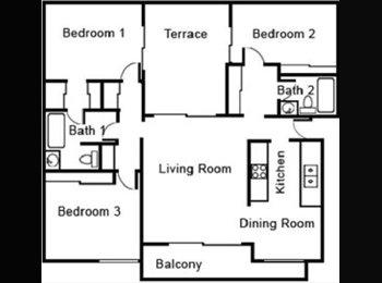 EasyRoommate US - Cute spacious room  - Long Beach, Los Angeles - $460 /mo