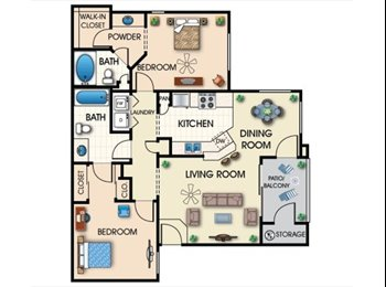 EasyRoommate US - CENTRALLY LOCATED FROM DTPHX/OLD TOWN/ASU TEMPE!!!  - Central Phoenix, Phoenix - $525 /mo