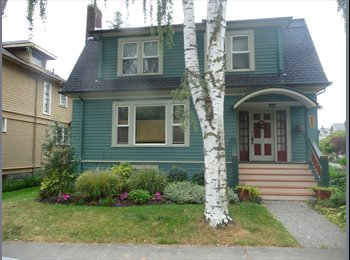 EasyRoommate US - Great house! Great location - University District, Seattle - $900 /mo