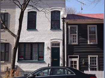 EasyRoommate US - Georgetown house for rent - Georgetown, Washington DC - $1,500 /mo