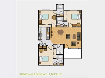 EasyRoommate US - $550/month! Utilities included!! - Southeast Jacksonville, Jacksonville - $550 /mo