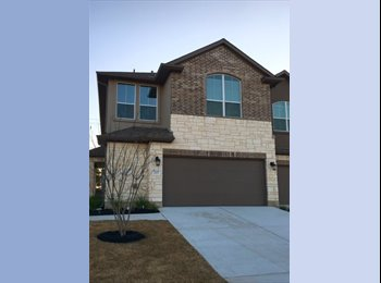 EasyRoommate US - Brand New Home In Pflugerville- 3 bedrooms  for rent! - North Austin, Austin - $650 /mo
