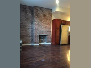 EasyRoommate US - BEAUTIFUL ROOM FOR RENT WITH LARGE CLOSET & EXPOSED BRICKS  - Fort Greene, New York City - $1,000 /mo