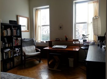 EasyRoommate US - SUNNY RMs w/parking in huge 3 bdrm, near F&Q, Park & organic mrkt  - Kensington, New York City - $850 /mo