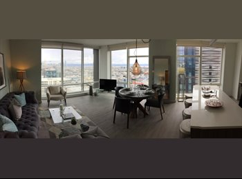 Looking for Roommates for high rise luxury apartment at...