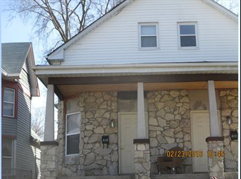 Near eco-farms & 26 blocks east of IUPUI. Utilities...