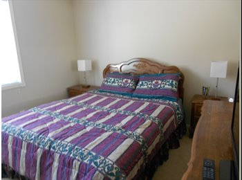 Bright, furnished room, private bath and kitchen privileges